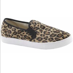 Anna Leopard Slip On Sneakers